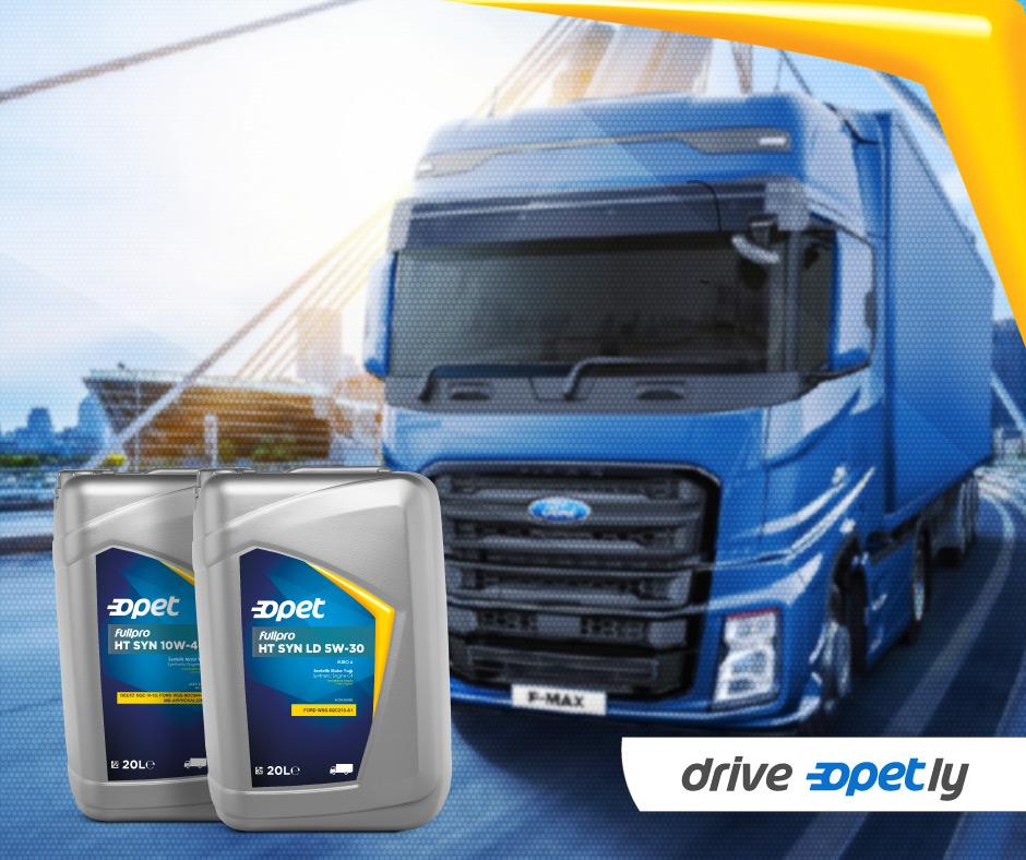 Оливи Opet для вантажівок FORD TRUCKS