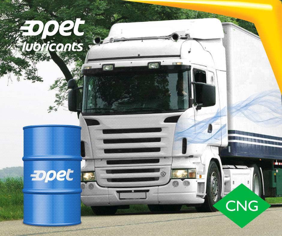 Нова моторна олива для вантажівок, що працюють на CNG