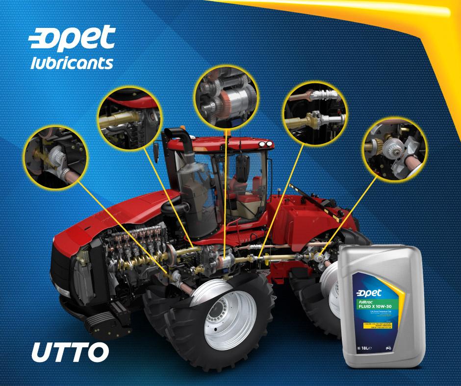 UTTO від Opet - універсальне рішення для агропідприємств.